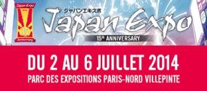 Japan Expo 2014 logo