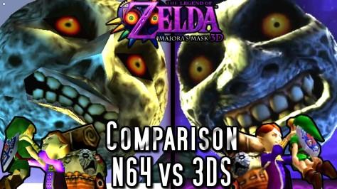 comparison n64 vs 3ds