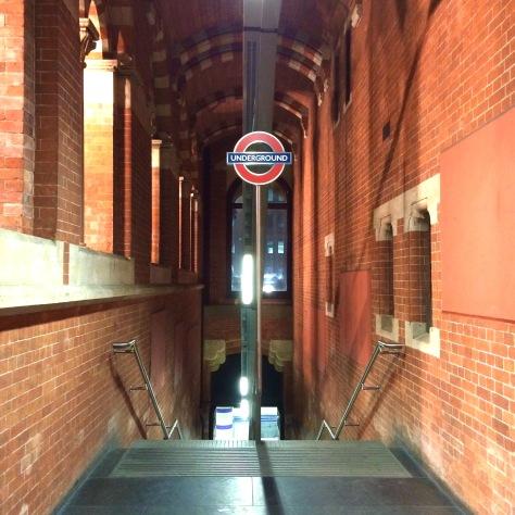 Underground Londres