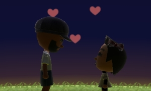 Deux de nos ami vivant une histoire d'amour qui serait impossible dans la vie !